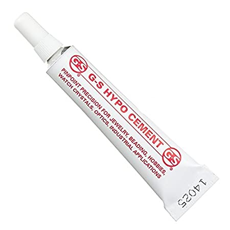 1d89ea9fc15788 GS Hypo Clear Cement Glue - Jewellery Bead Repair 9ml  Amazon.co.uk   Kitchen   Home