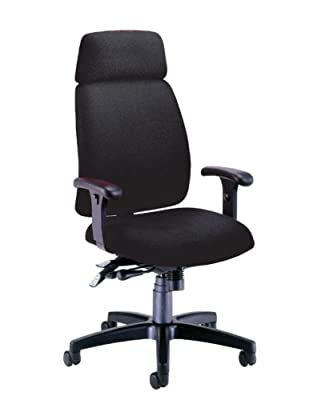 OFM 625-236-BLACK Executive Conference/Task Chair - Hi-Back - Black