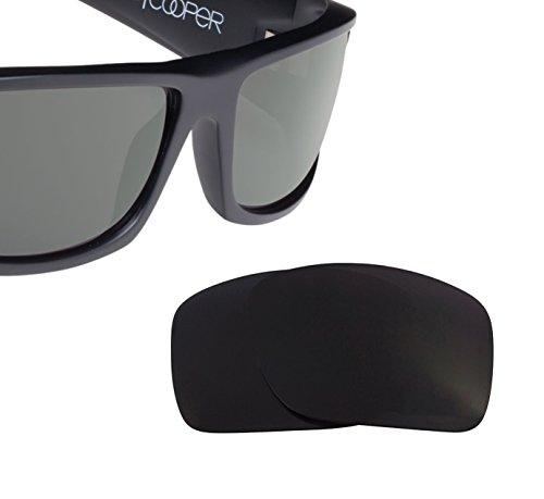 lacement Lenses Spy Optics COOPER XL - Polarized Black ()