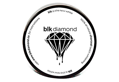 Blkdiamond | Premium Activated Charcoal Teeth Whitening Powder | Natural Coconut Charcoal | Proven Safe for Enamel | Premium Organic Toothpaste