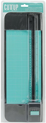 (American Crafts Cutup Portable Combo Blade Paper Trimmer, 12-Inch)
