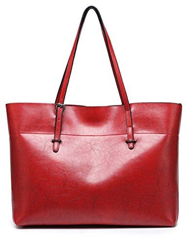 Menschwear Moda Mujer Cuero de PU Cross-body Bolso Manija de la bolsa Hombro Bolso Azul Rojo 7308