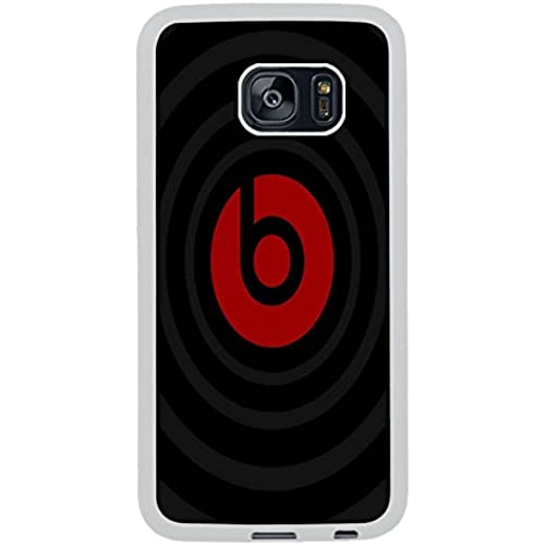 Beats By Dr Dre White Shell Phone Case Fit For Samsung Galaxy S7 Edge,Beautiful Cover Sales
