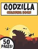 Godzilla Coloring Book: Big Monster Amazing