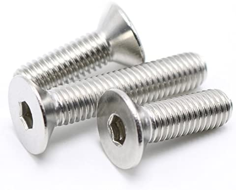 4mm Qty 10 Csk Phillips M4 x 25mm Zinc Plated Steel Metal Thread