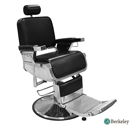 LINCOLN Barber Chair Heavy Duty, Hydraulic Reclining All Purpose Barber Chair, Salon Hair Styling Chair