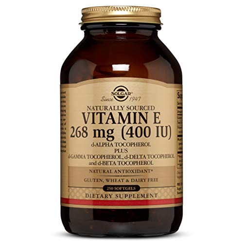 Vitamin E 268 MG (400 IU) Mixed Softgels (d-Alpha Tocopherol & Mixed Tocopherols) - 250 Count (Iu E 400 Vitamin)