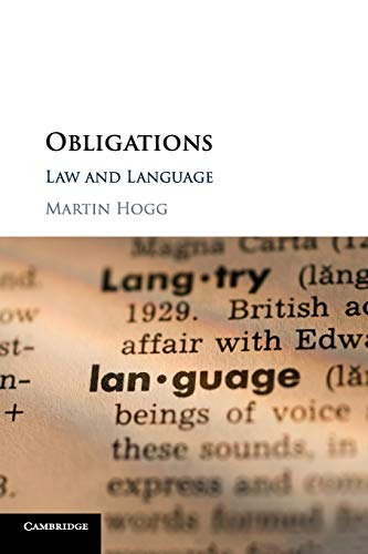 Obligations: Law and Language by Cambridge University Press