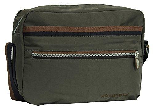 Big Handbag Shop - Bolso de asas de tela para mujer Style 3 - Grey