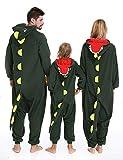 Dinosaur Onesie Animal Pajamas Unisex Kigurumi Halloween Xmas Costume Women Kids