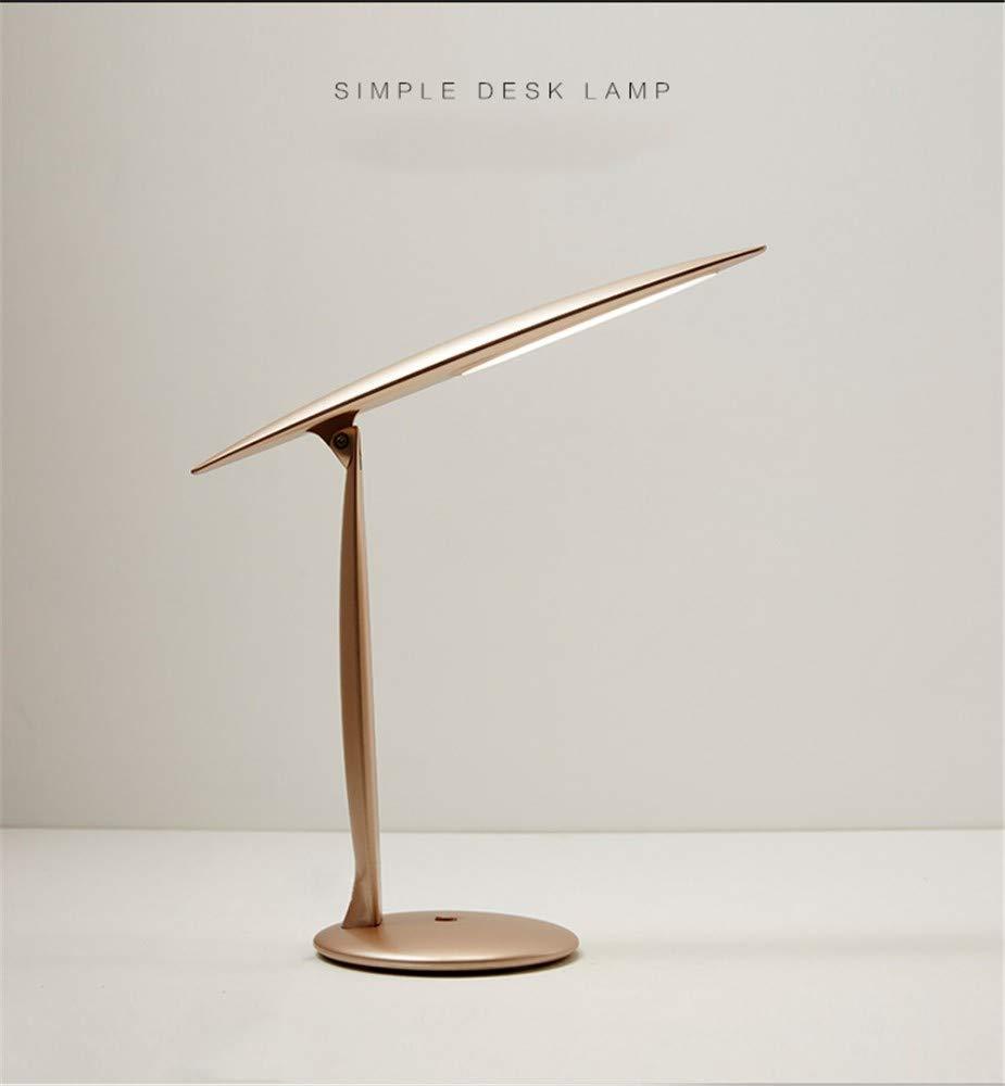 GSHOUSE Usb-Augenschutz kleine Schreibtischlampe College Schreibtisch kreative Lampe vertikale Faltschlafsaal warme Nachttischlampe einfache Spannung 111V ~ 240V Leistung 5W und darunter