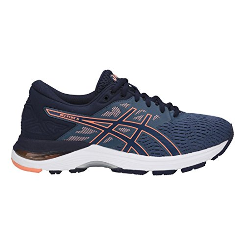 Flux Canteloupe Gel Blue T861N Peacoat ASICS Women's Shoes Running 5 8O0qEfWB