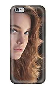 Excellent Design Barbara Palvin Brunette Blue Eyes Eyelashes Lamp People Women Phone Case For Iphone 6 Plus Premium Tpu Case