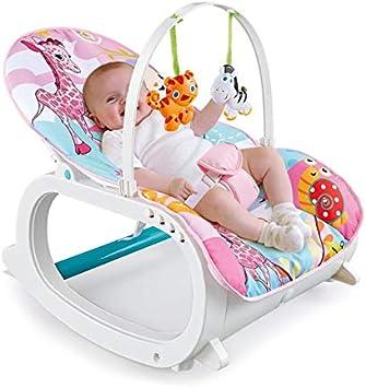 Baby Bouncer Seat Newborn Infant Toddler Musical Vibrating Rocker Chair Gift New