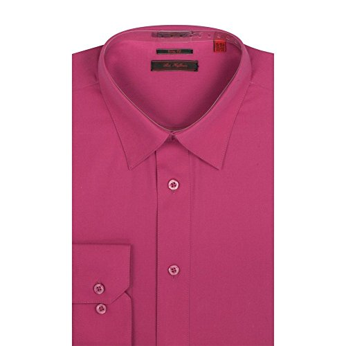 Hot Pink Dress Shirt - 3