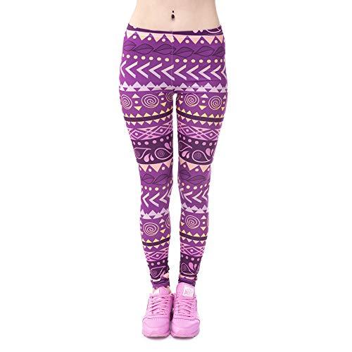 Lybtrouser Pantaloni da donna, leggings 3D da donna elasticizzati alta elasticizzati con piedini da donna