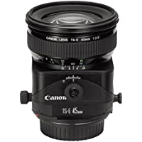 Canon TS-E 45mm f/2.8 Tilt and Shift Manual Focus Lens - International Version (No Warranty)