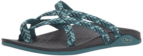 Chaco Women's Tempest Cloud Athletic Sandal, Origami Teal, 7 M US