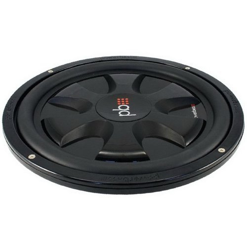 Powerbass S10T 10-Inch Single 4 Ohm Thin Subwoofer by PowerBass