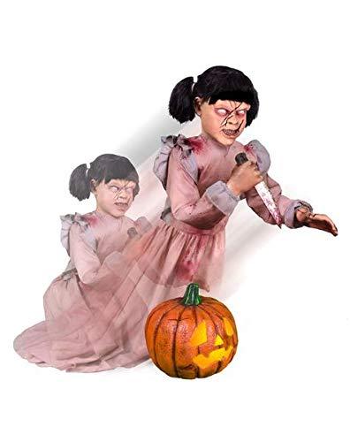 Animated Halloween Pumpkins (Tekky Animated Lunging Pumpkin Carver Halloween)