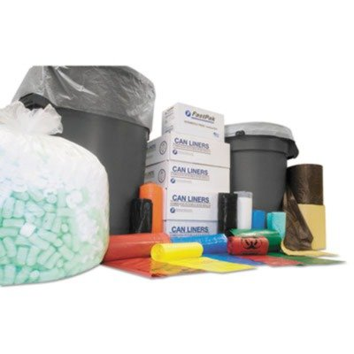 45 Gallon Blk Liner - IBSSL4046XPK Institutional Low-Density Can Liners, 40-45 gal, .90 mil, 40 x 46, Blk, 25/Roll