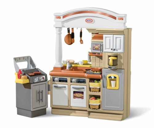 amazon com little tikes sizzle n serve kitchen toys games rh amazon com  play kitchen set with grill