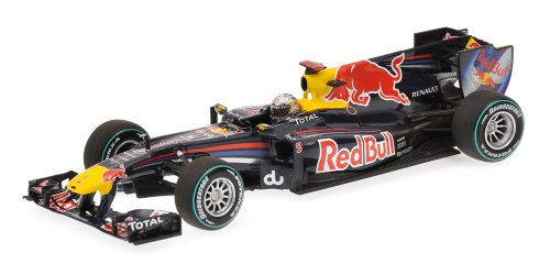 Minichamps 410100105 1:43 Scale 2010 Red Bull Renault for sale  Delivered anywhere in USA