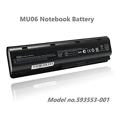 SKstyle Replacement Laptop Battery for 593553-001-HP Battery- MU06 Notebook Battery by Skstyle