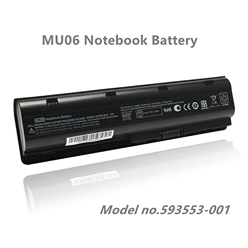 - SKstyle Replacement Laptop Battery for 593553-001-HP Battery- MU06 Notebook Battery