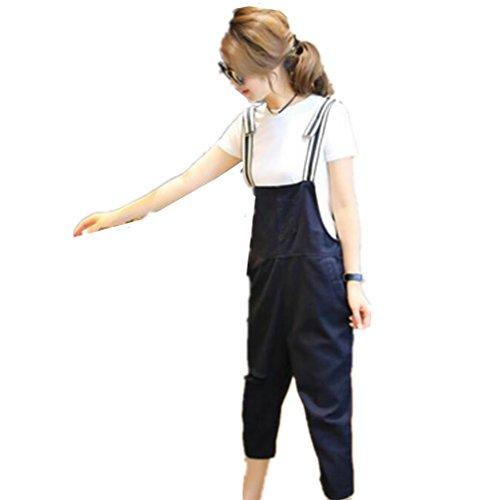 子供時代買う表面的なMARIAH(マリア) ワイド サロペット オーバーオール レディース ファッション