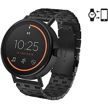 Misfit Vapor 2 Stainless Steel Touchscreen Smartwatch Color: Black (MIS7202)