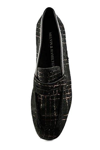 Femme Melvin Mocassins MH15 Noir 1312 amp; pour Noir Hamilton fwf7q6B