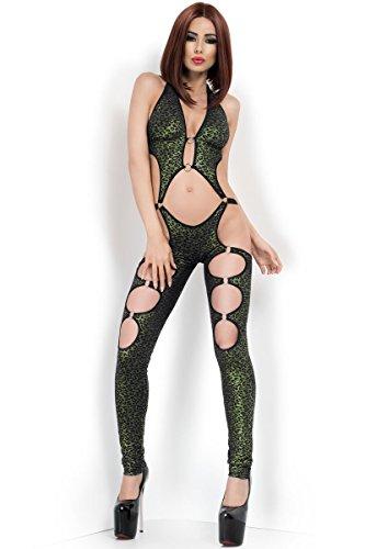 Chilirose - Body - para mujer negro / verde