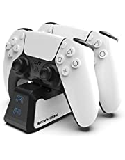 Skyview PS5-Charging-Station Dualsense-Charging-Station PS5-Charger PS5-Controller-Charger Dualsense-Controller-Charger