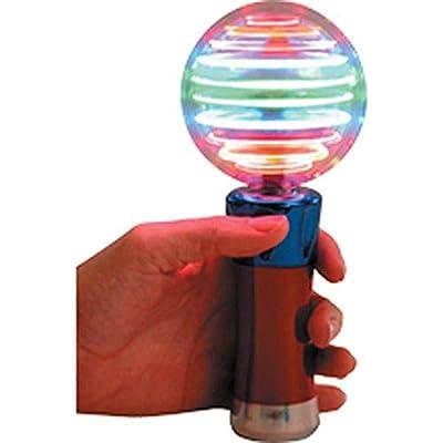 Flashing Panda Meteor Storm LED Changing Pattern Spinner Wand: Toys & Games