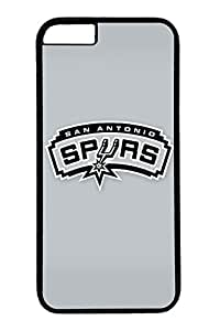 GOOD iPhone 6 Case, Customize Nba San Antonio Spurs Protection Scratch Proof Hard PC Black Case Bumper Cover for New Apple iPhone 6 4.7 Inch