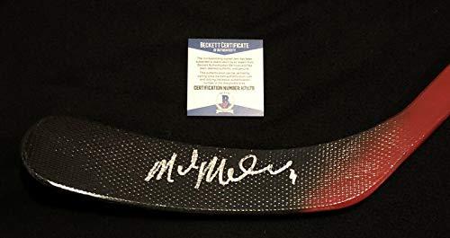 Mike Modano Autographed Stick - Minnesota North Beckett COA - Beckett Authentication - Autographed NHL Sticks
