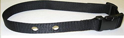 "The Animazing 3/4"" Replacement Strap - Black - Fits many PetSafe containment collars. - Sold per each"