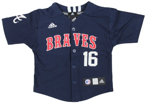 Brian Mccann Braves (MLB Atlanta Braves Infant Brian Mccann #16 Jersey By Adidas (Infant (12M)))