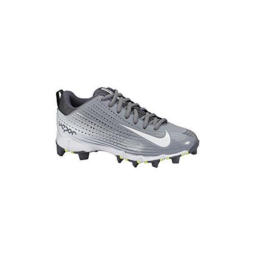 Nike Boys Vapor Keystone 2 Low (GS) Baseball Cleat Stealth/Graphite/White Size 13 Kids US