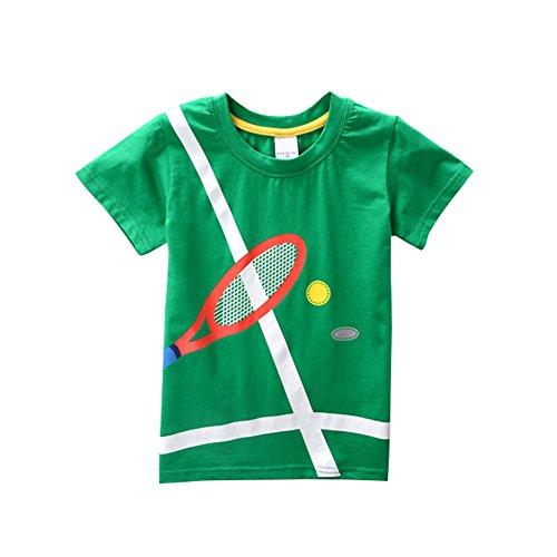 2 Wongfon Anni Bimba shirt Manica T Bimbo Corta Stampata 8 Per A4 TxrwTFq81