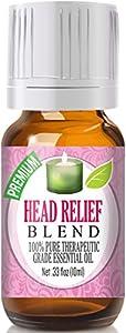Best Head Ease Blend Oil - 100% Pure Head Ease Blend Essential Oil