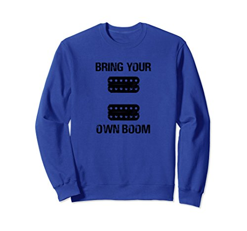 BYOB Active Passive Humbucker Pickups Lead Rhythm Sweatshirt (Rhythm Humbucker)