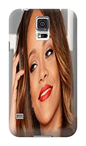 Candy color tpu skin case cover with cartoon for Samsung Galaxy s5 (Rihanna)