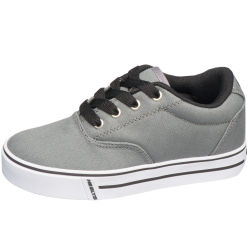 Heelys Launch-K Skate Shoe Grey,4 M US Big Kid