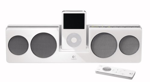 Logitech Pure Fi Mobile - Logitech Pure-Fi Anywhere Compact Speakers for iPod (White)