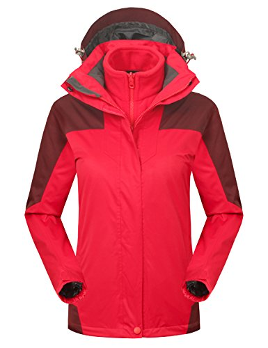 Red All Weather Jacket - 1