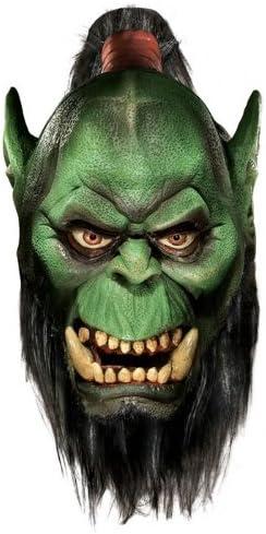 Orco Deluxe máscara con barba: Amazon.es: Juguetes y juegos
