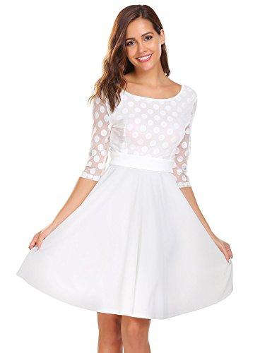 empire white dress - 1