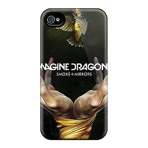 Iphone 4/4s Skc5753DWdI Custom HD Breaking Benjamin Pattern Scratch Resistant Cell-phone Hard Covers -CharlesPoirier
